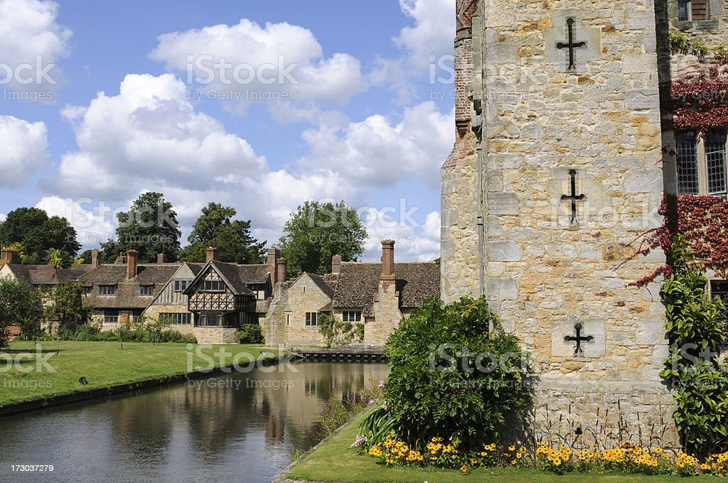 Astor's Housing, Hever Castle royalty-free stock photo