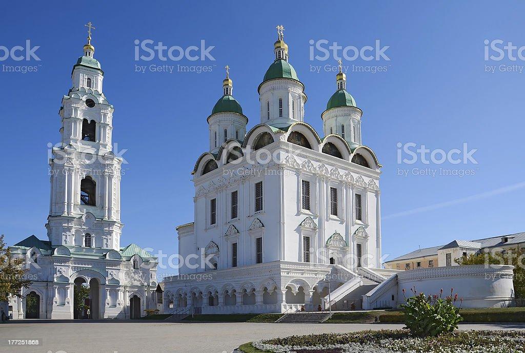 Astrakhan Kremlin stock photo