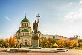 Astrakhan. St. Vladimir's Cathedral.
