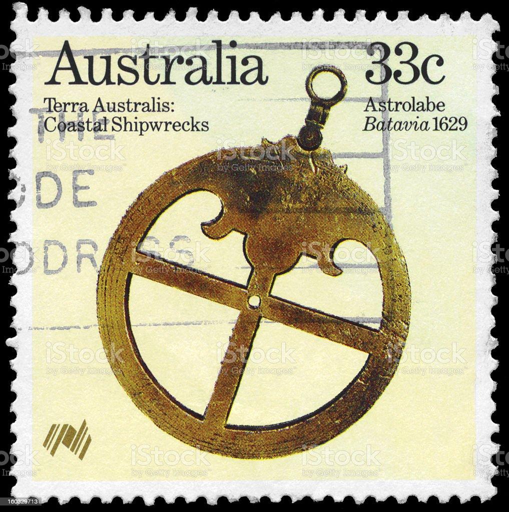 Astrolabe royalty-free stock photo