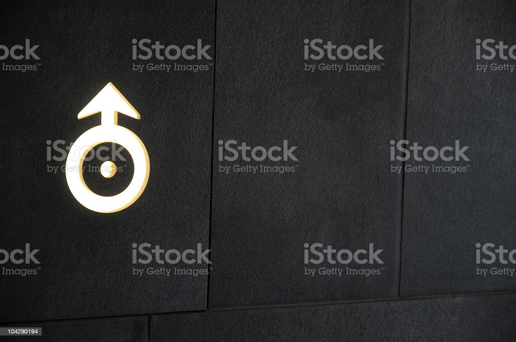 Astrological Symbol For Mars Stock Photo 104290194 Istock