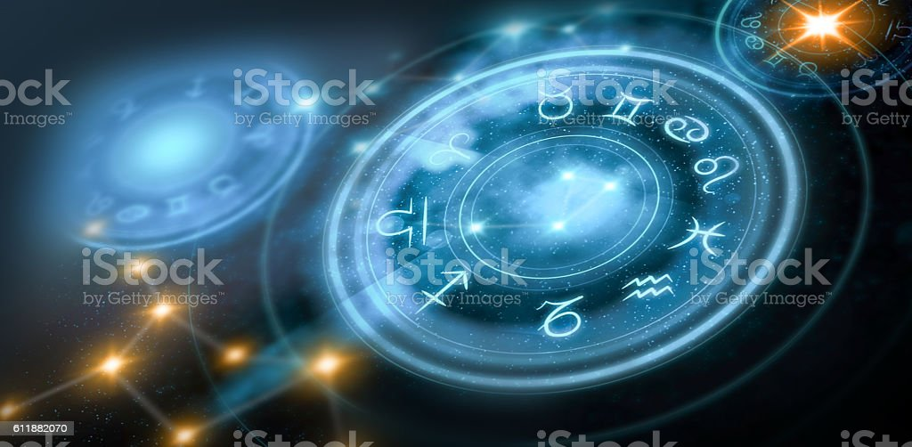 astrology horoscope background stock photo