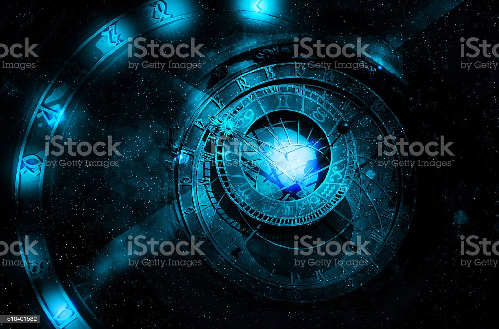 astrology universe concept stock photo