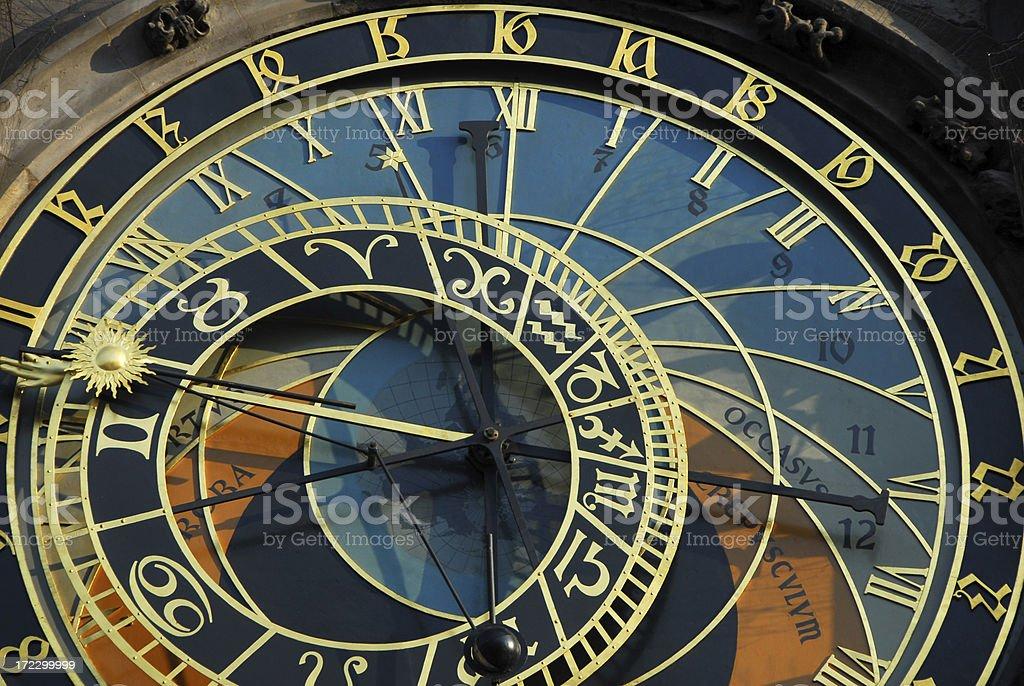 Astronomical Clock 4 stock photo