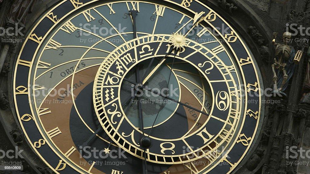 Astronomical Clock of Prague royalty-free stock photo