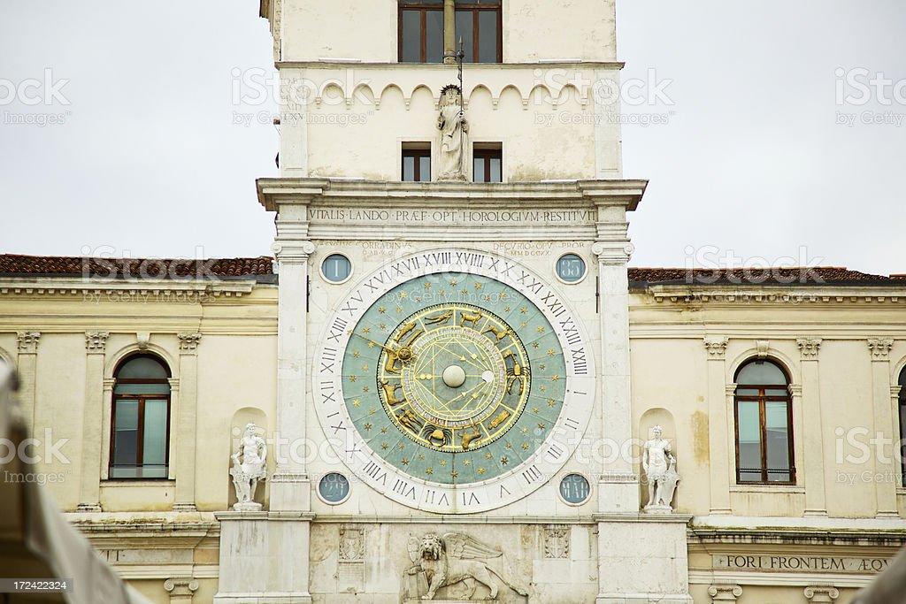 Astronomical Clock Padua - Italy royalty-free stock photo