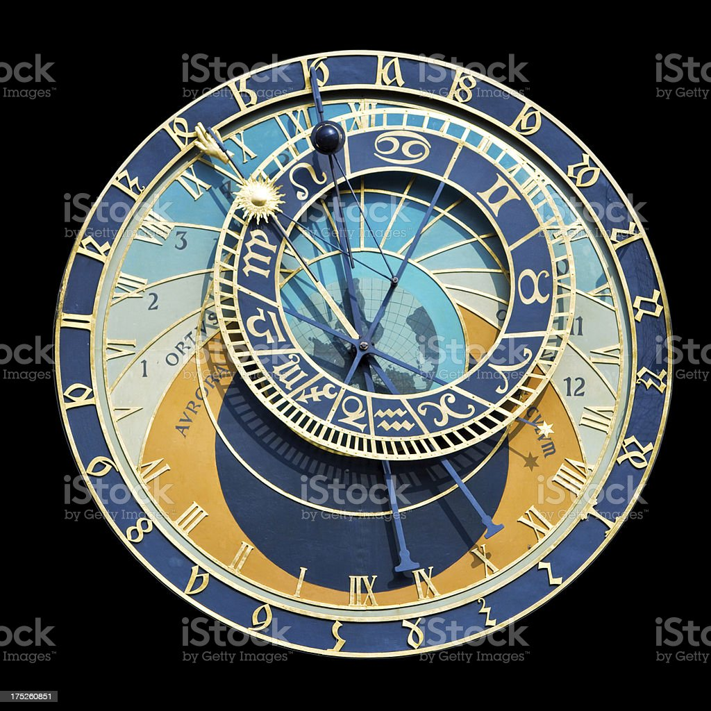 Astronomical Clock stock photo