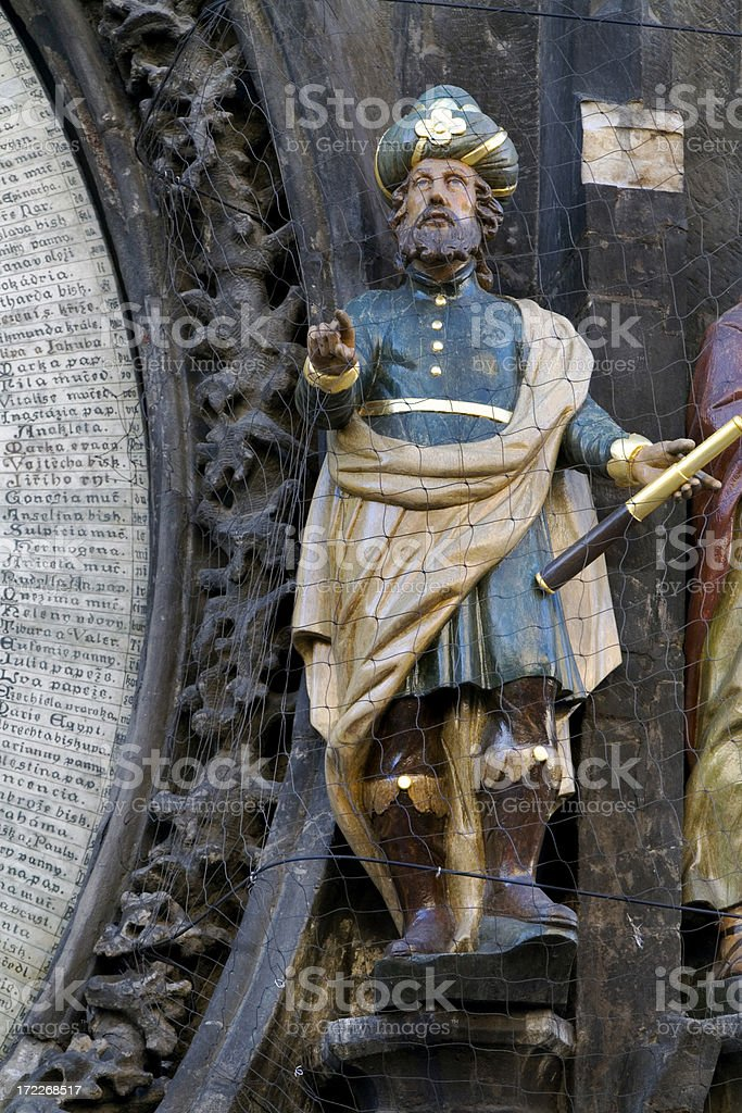 Astronomical Clock, Prague, Czech Republic royalty-free stock photo