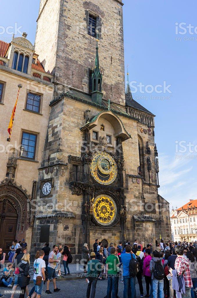 Astronomical Clock Prague stock photo