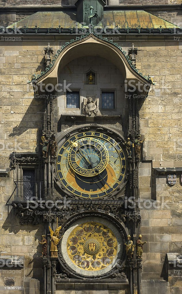 Astronomical Clock Tower, Old Town, Prague stock photo