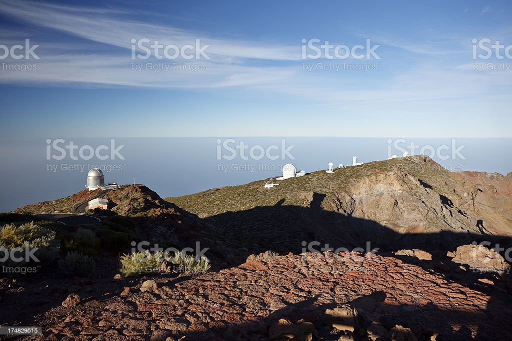 Astronomical Observatories, La Palma royalty-free stock photo