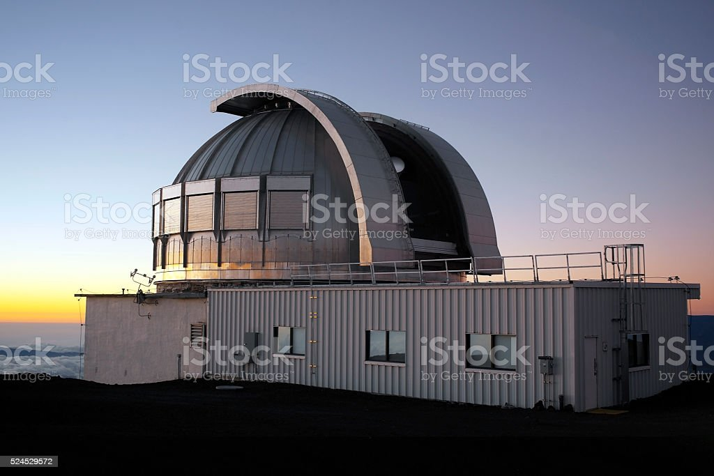 Astronomical Observatory - Hawaii - USA stock photo