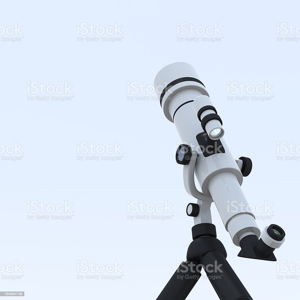 astronomical telescope royalty-free stock photo