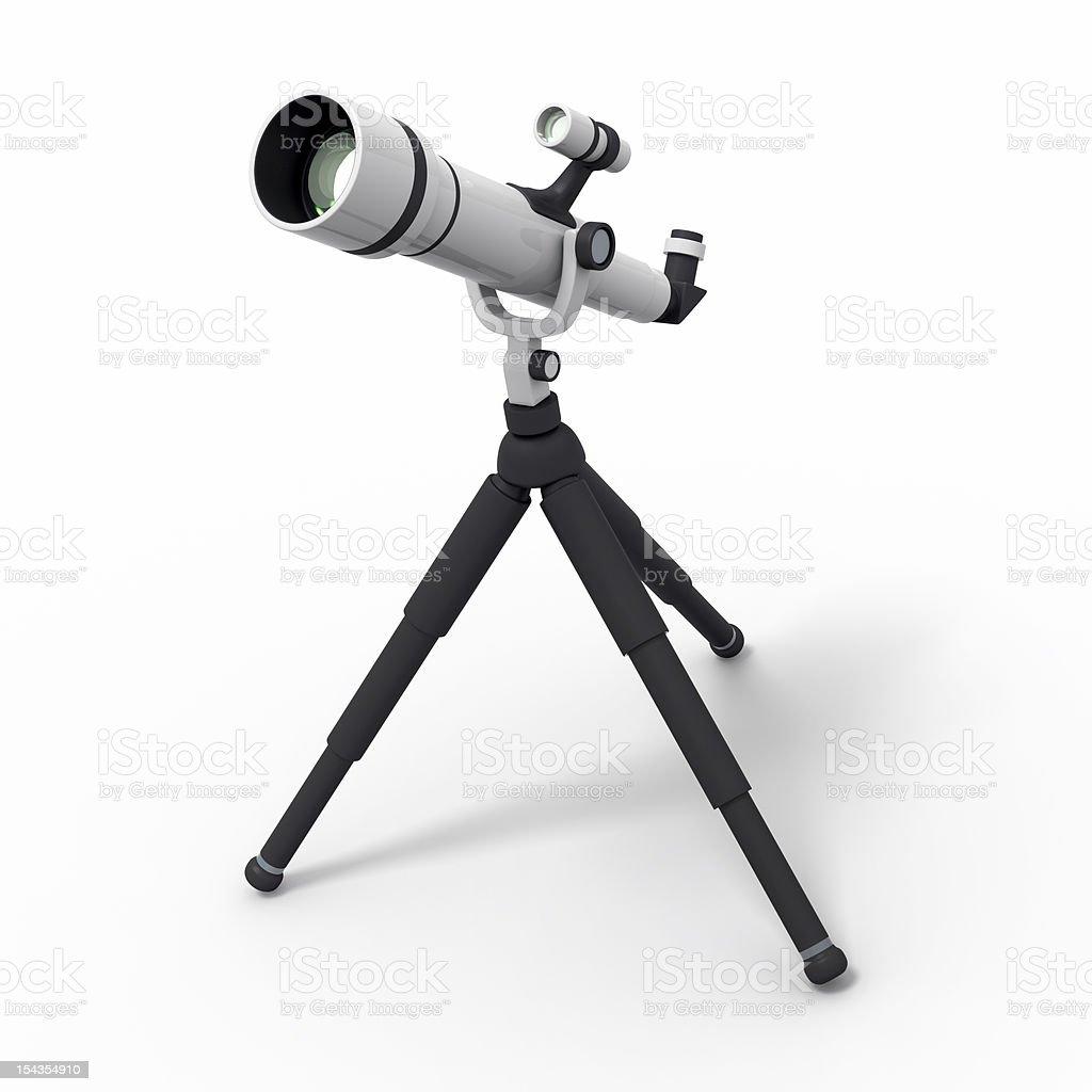 astronomical telescope stock photo