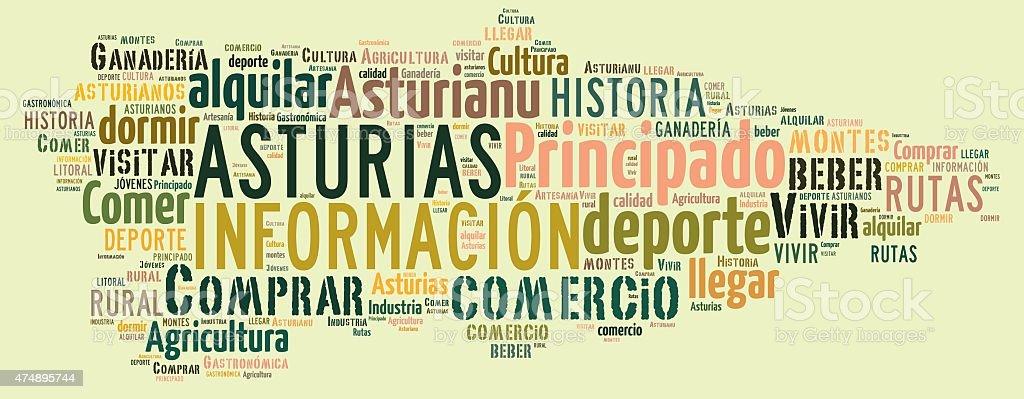 Asturias. stock photo