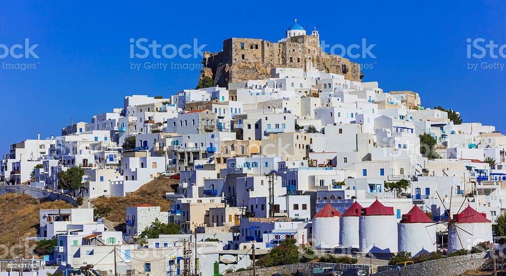 Astypalea island - Dodecanese, Greece stock photo
