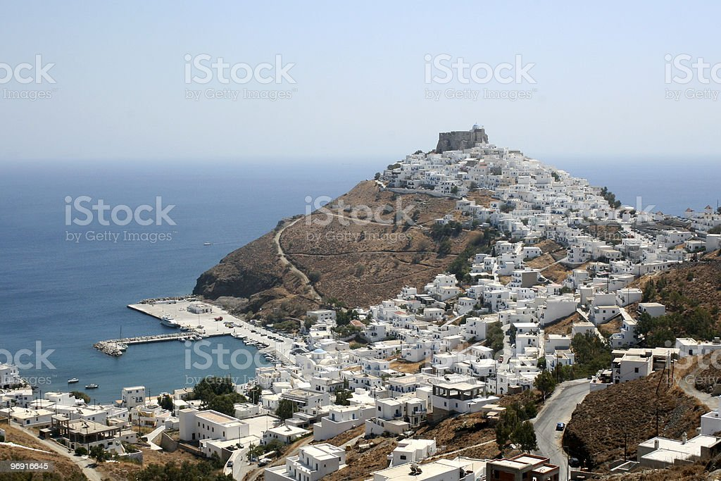 Astypalea Island - Greece stock photo