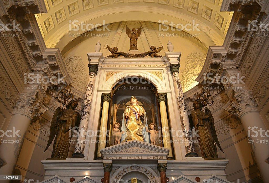 Asunci?n, Paraguay: chapel of the Virgin of the Asuncion, Pantheon stock photo