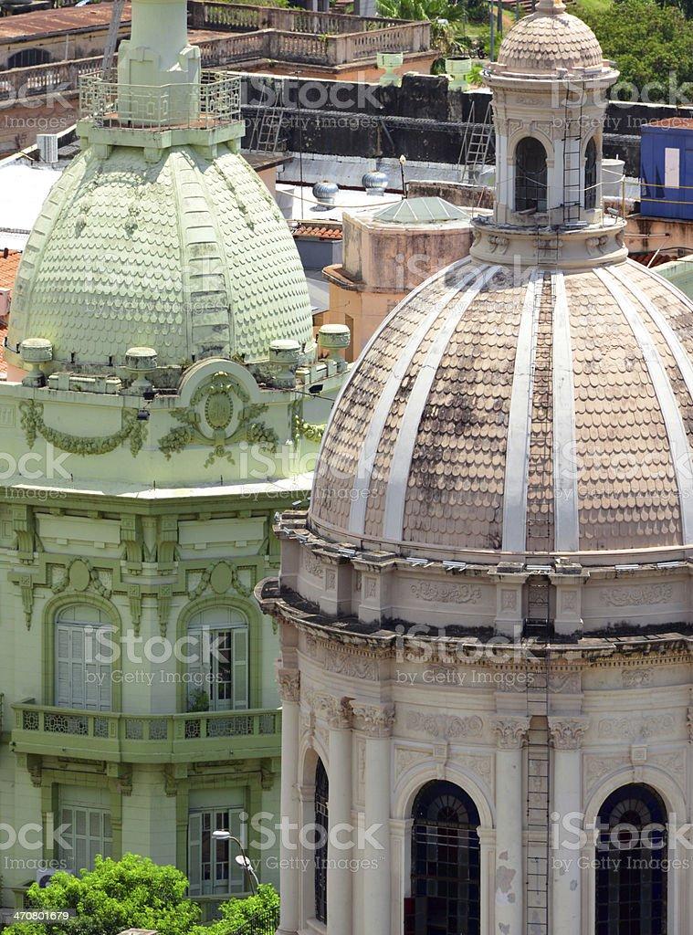 Asunci?n, Paraguay: domes stock photo