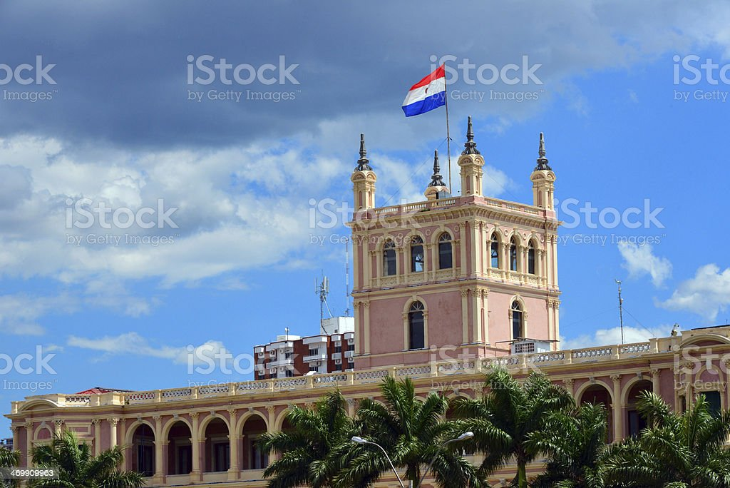 Asunci?n, Paraguay: government HQ stock photo