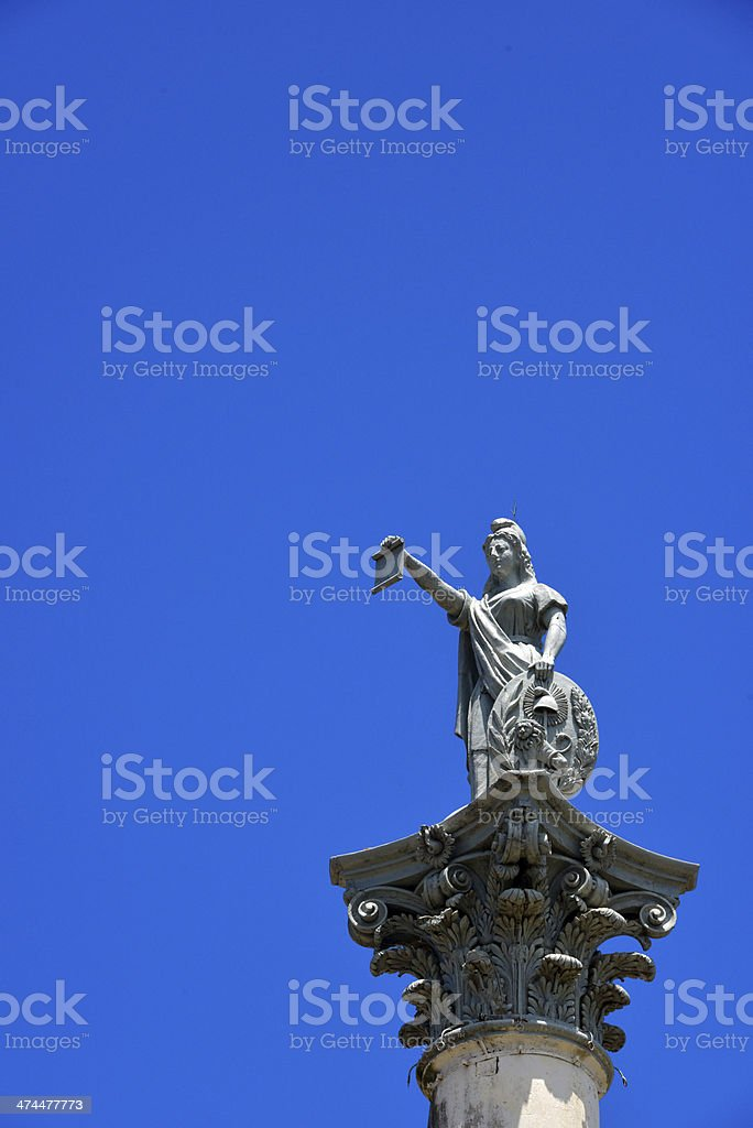 Asunci?n, Paraguay: Monument to the First Cry of Freedom (1870) stock photo