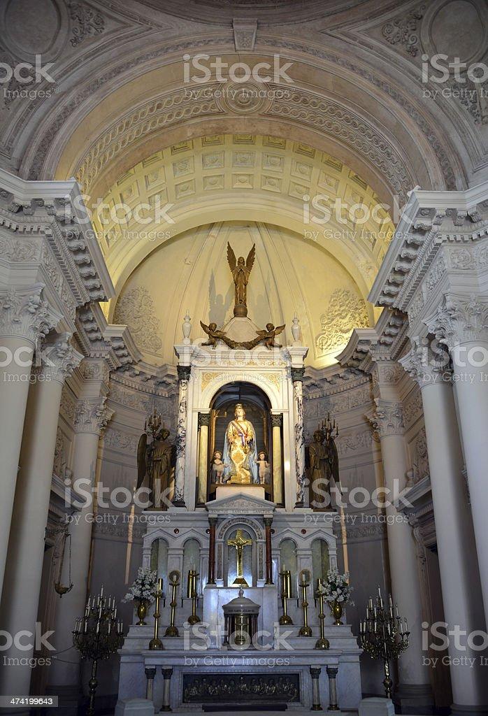 Asunci?n, Paraguay: oratory of the Virgin. Pantheon stock photo