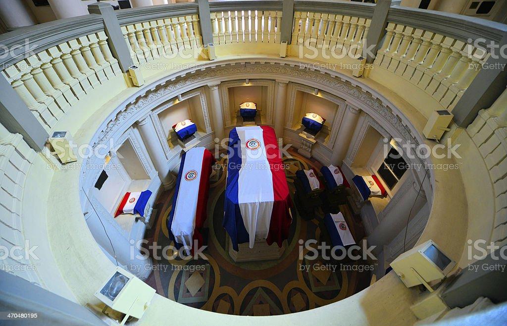 Asunci?n, Paraguay: Pantheon stock photo
