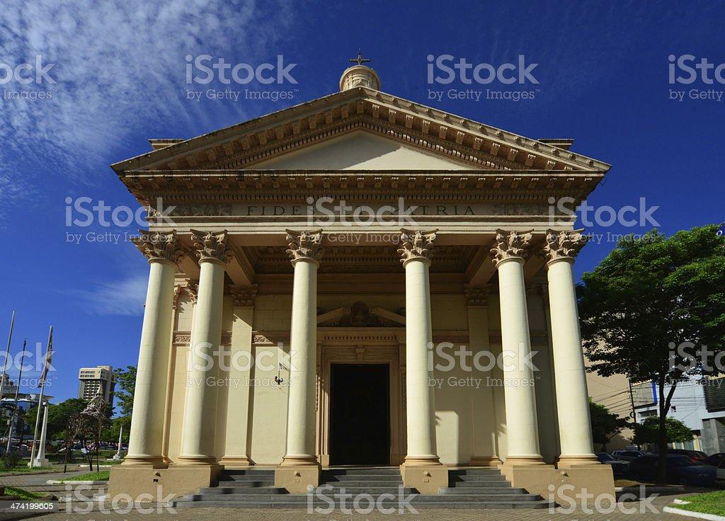 Asunci?n, Paraguay: Pantheon's portico stock photo