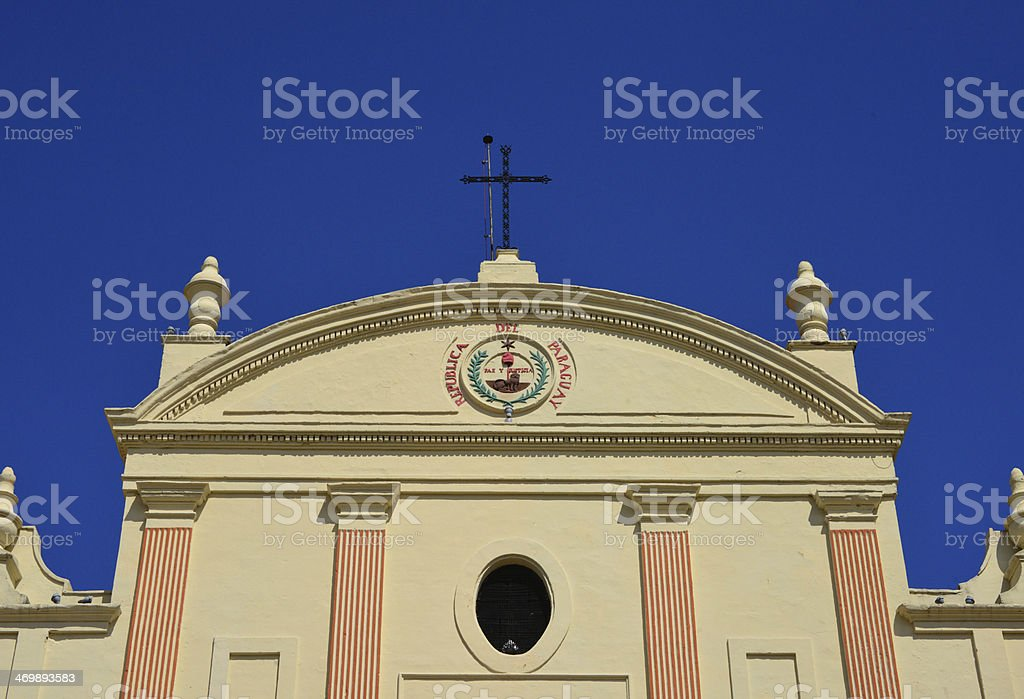 Asunci?n, Paraguay: the Cathedral royalty-free stock photo