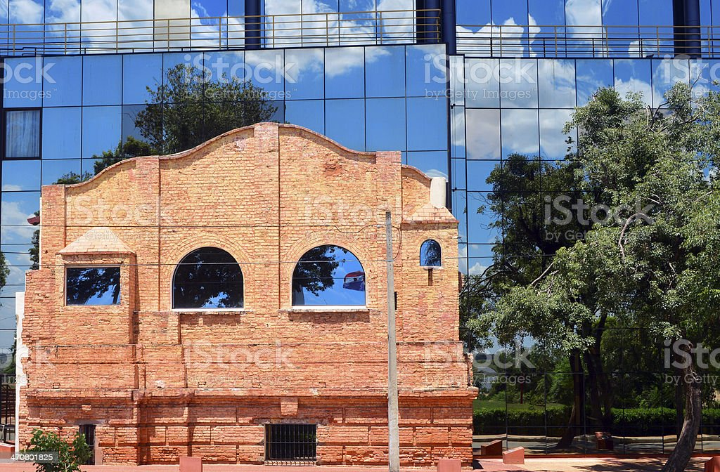 Asunci?n, Paraguay: the old Royal Seminary of San Carlos stock photo