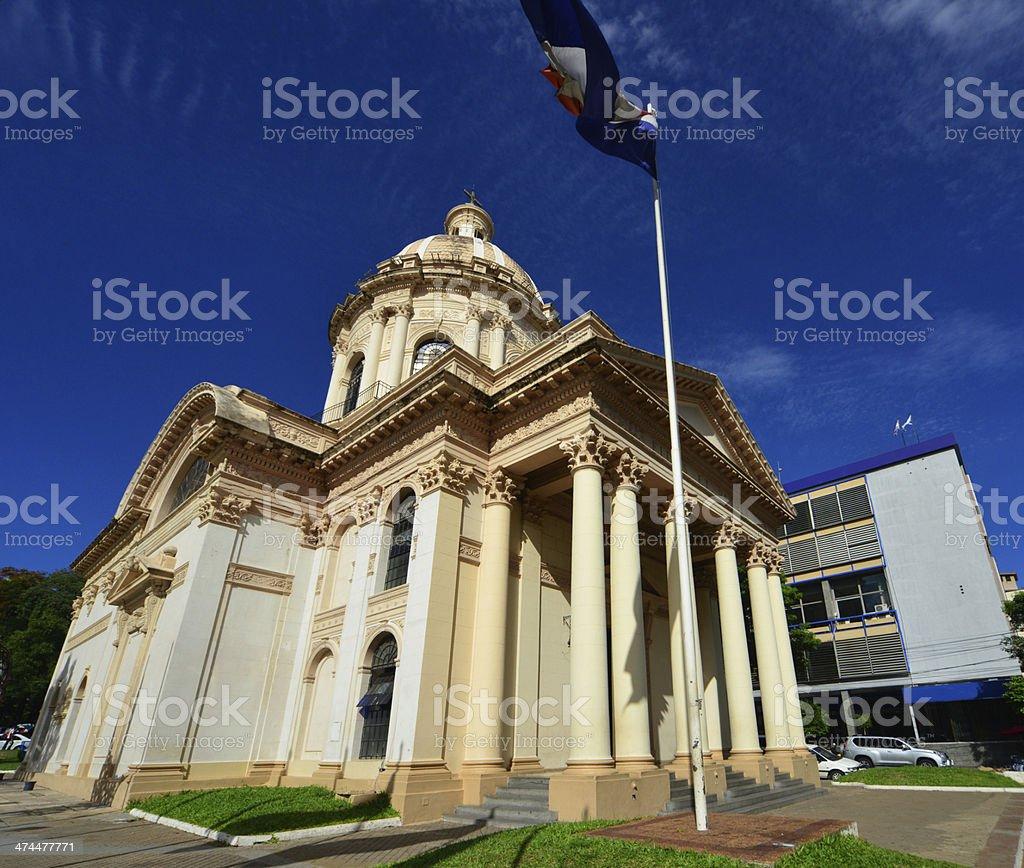 Asunci?n, Paraguay: the Pantheon (19th century) stock photo