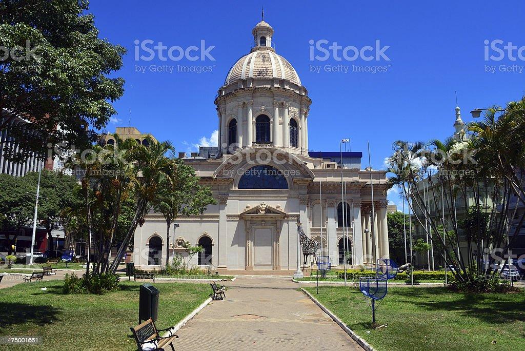 Asunci?n, Paraguay: the Pantheon stock photo