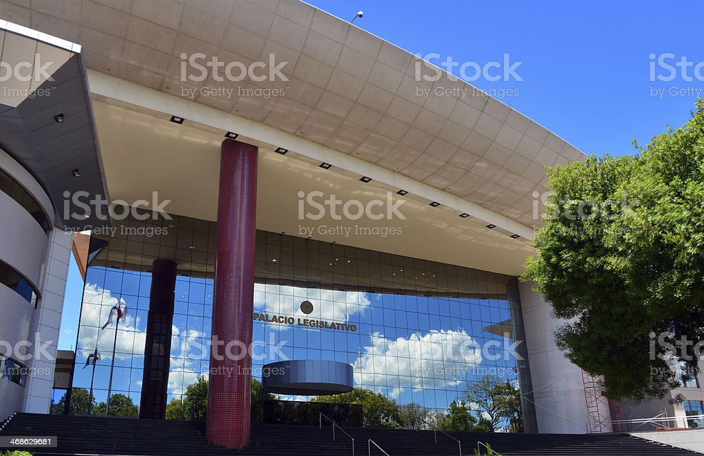 Asuncion, Paraguay: Lesgislative Palace, the Parliament stock photo