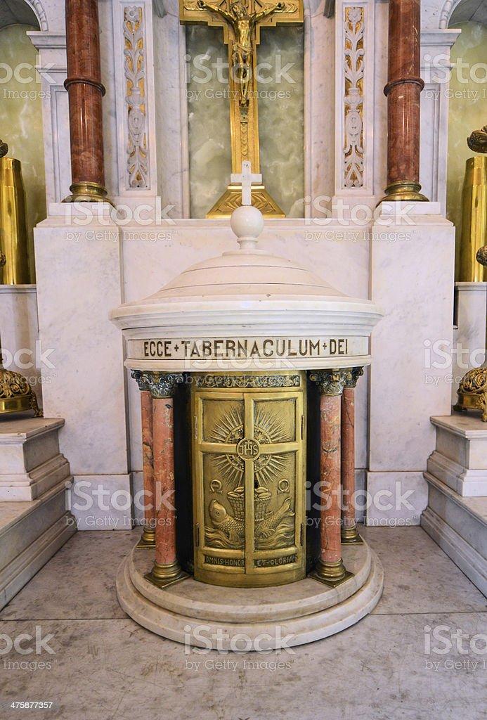 Asuncion, Paraguay: oratory of the Virgin. Pantheon stock photo