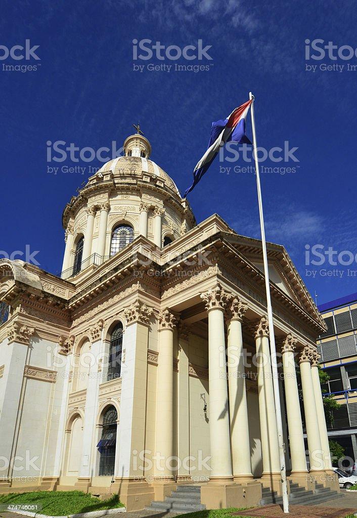 Asuncion, Paraguay: Pantheon stock photo