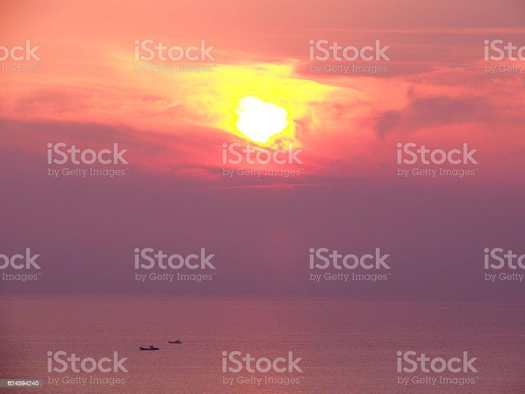 a,Sunset stock photo