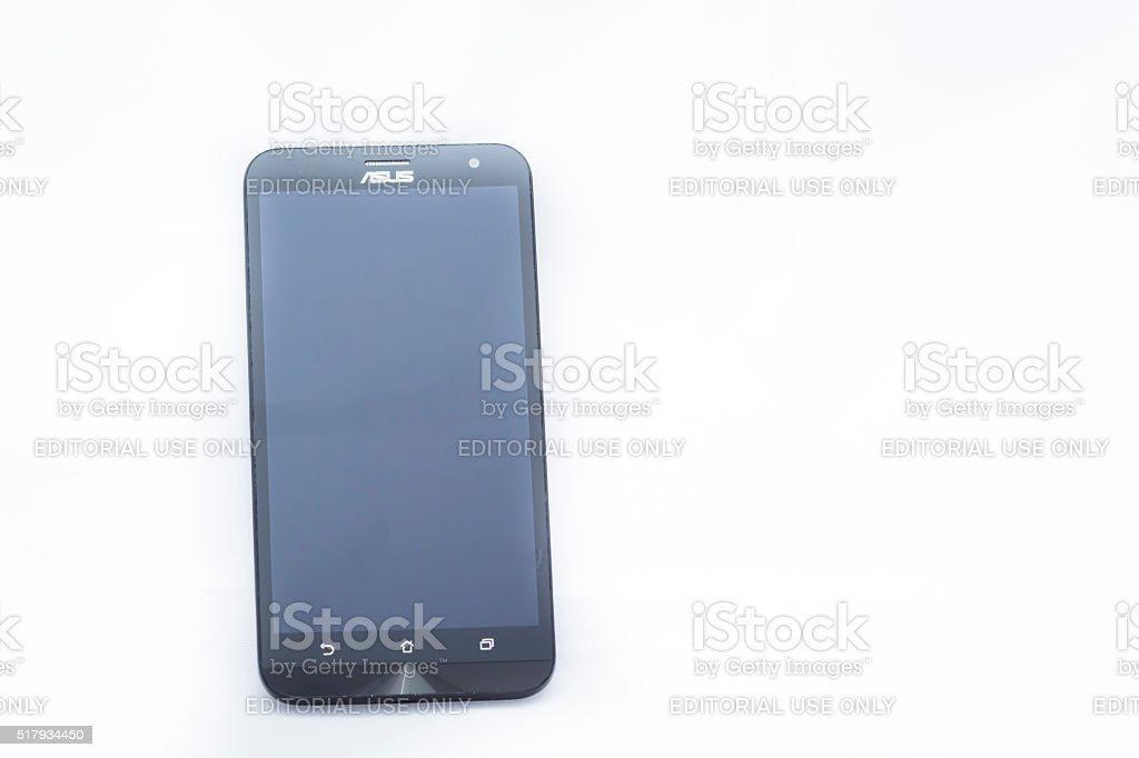 Asus smartphone stock photo