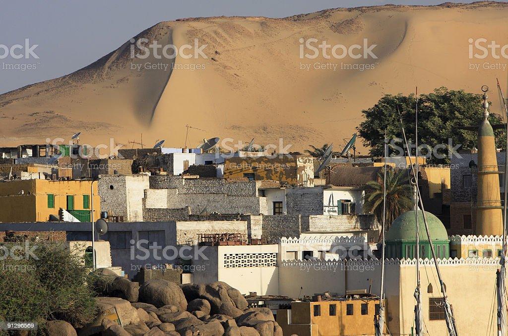 Aswan in Nubia, Egypt stock photo