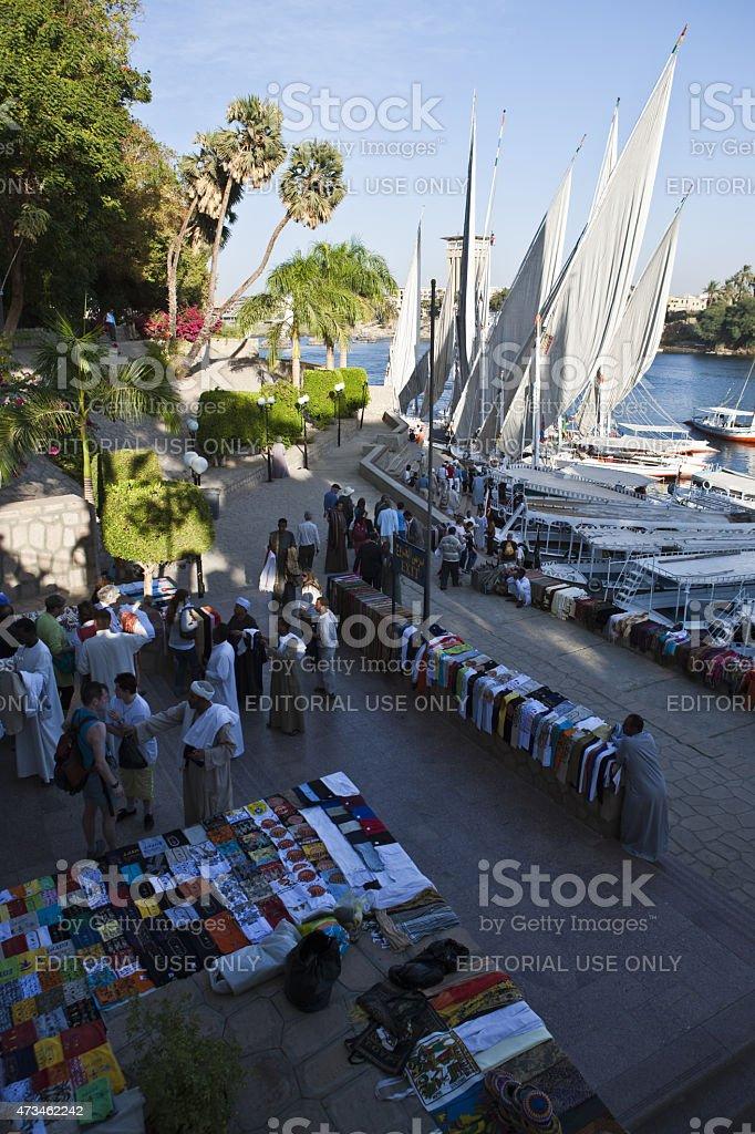 Aswan stock photo