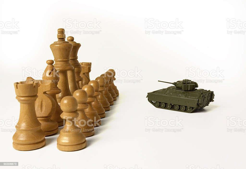 Asymetrical Warfare stock photo