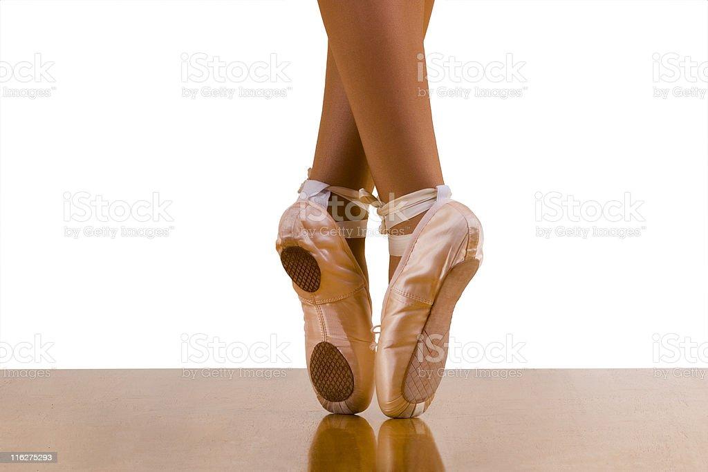 Asymmetric(al) Dance Shoes royalty-free stock photo