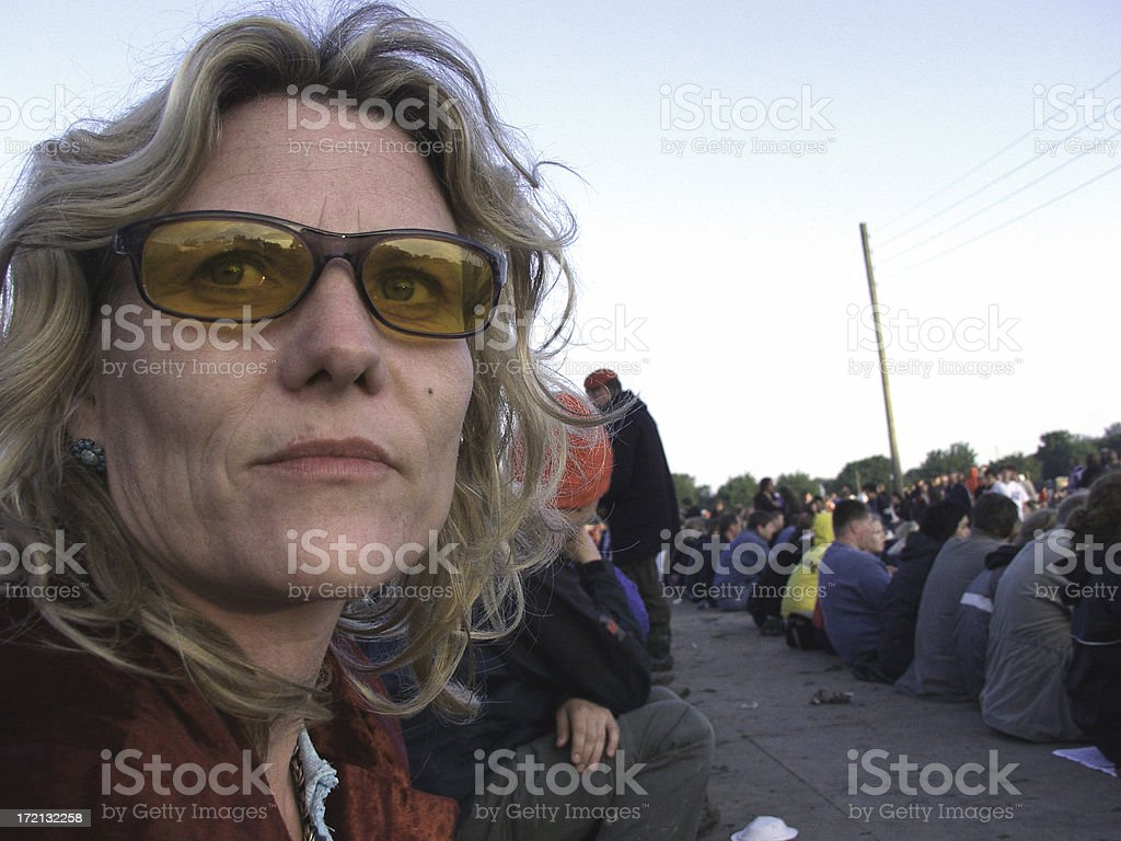 At a Festival stock photo