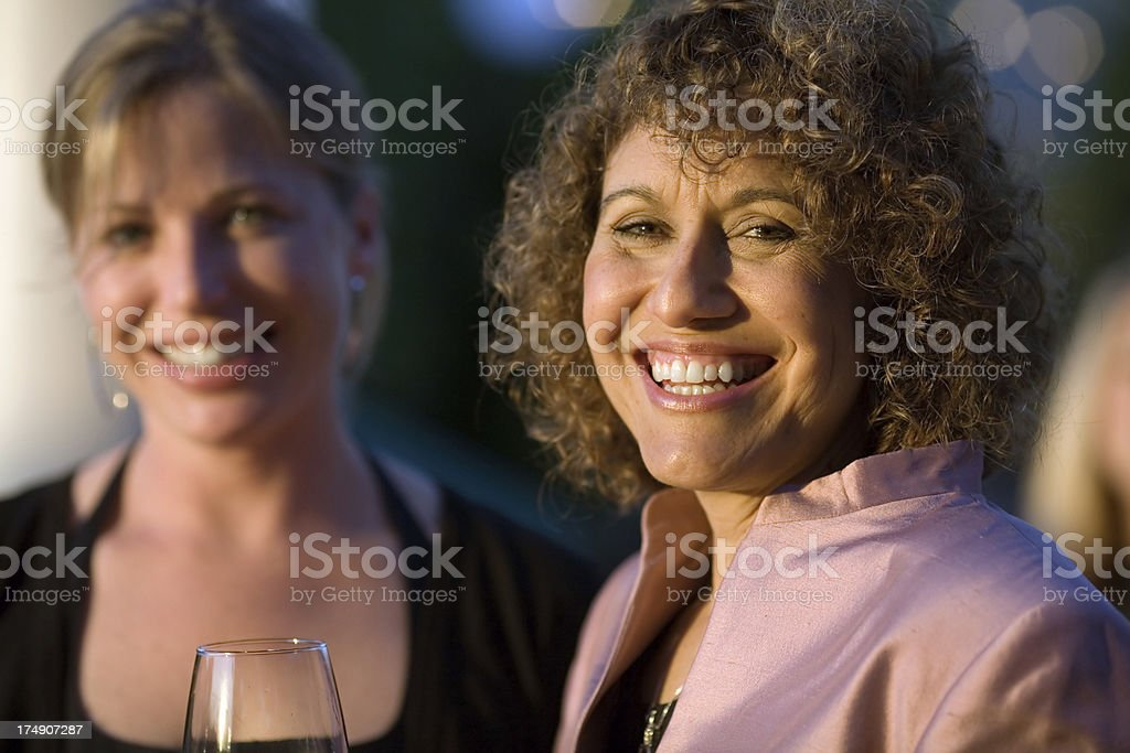 At a Party! royalty-free stock photo