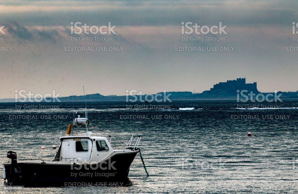 At anchor stock photo