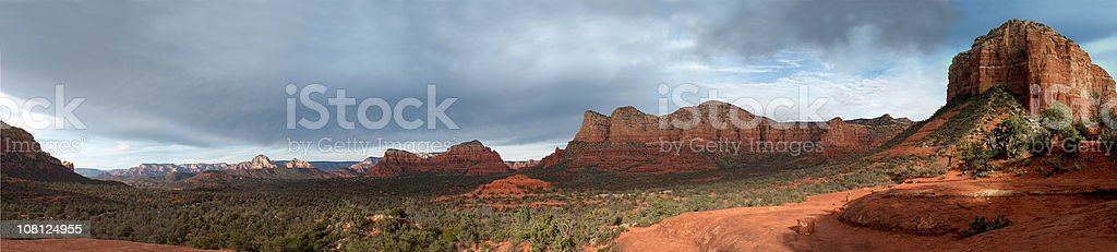 at bell rock in Sedona royalty-free stock photo