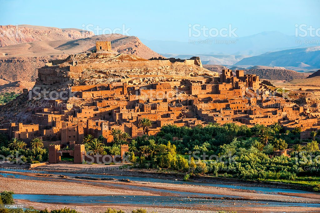 A?t Ben Haddou - Ancient city in Morocco North Africa stock photo