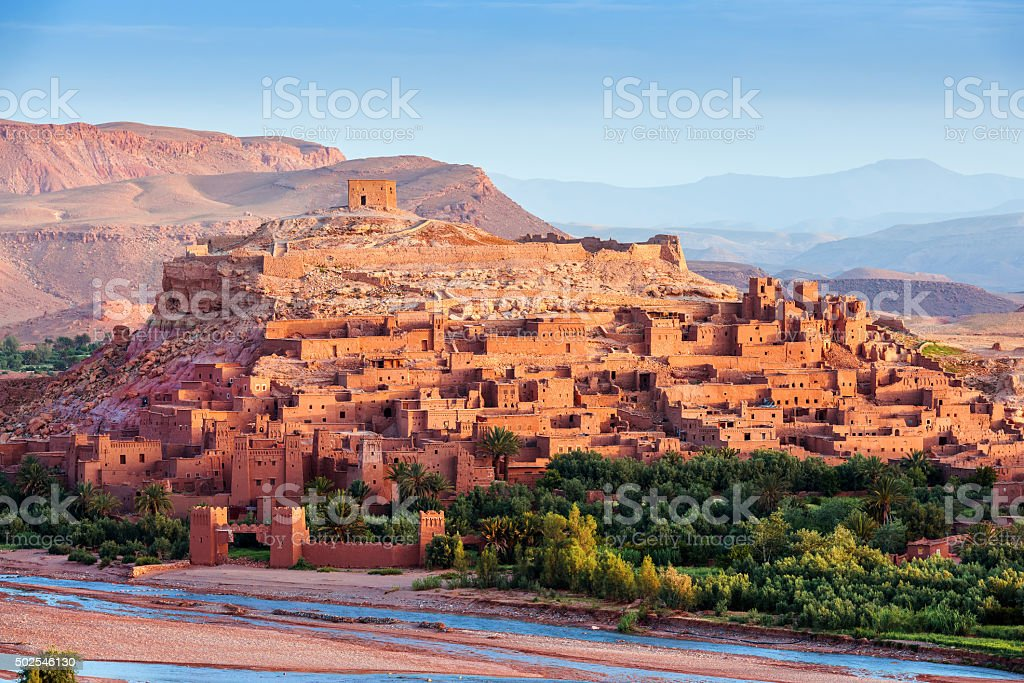 Aït Ben Haddou - Ancient city in Morocco North Africa stock photo