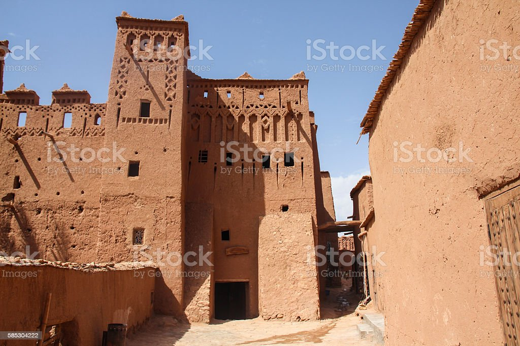 Aït Benhaddou ksar, Morocco stock photo
