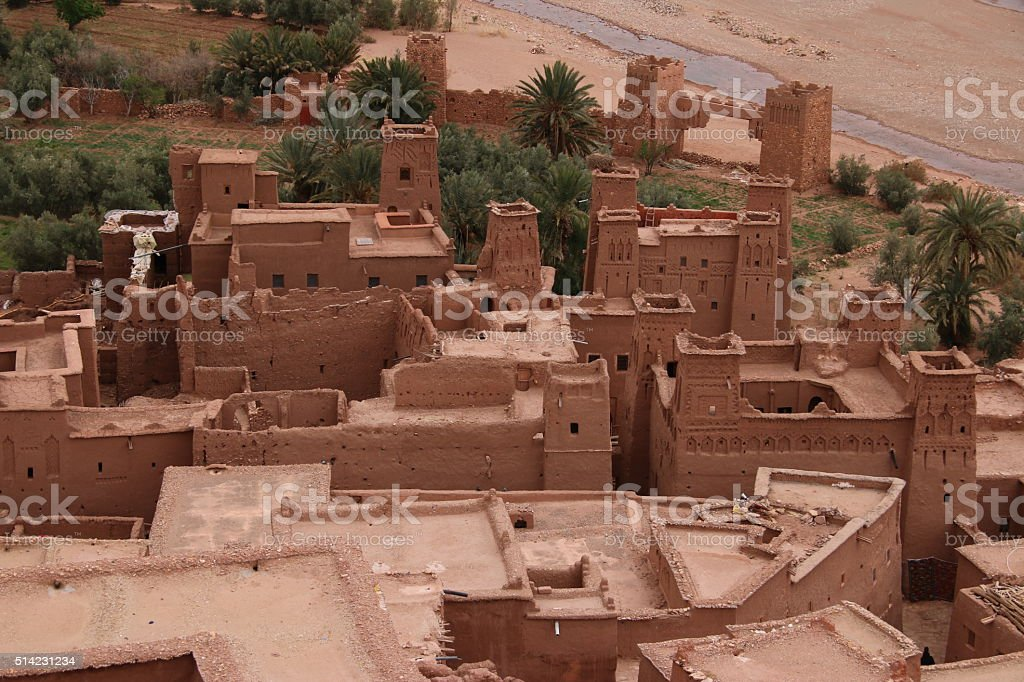 Aït Benhaddou, Morocco stock photo