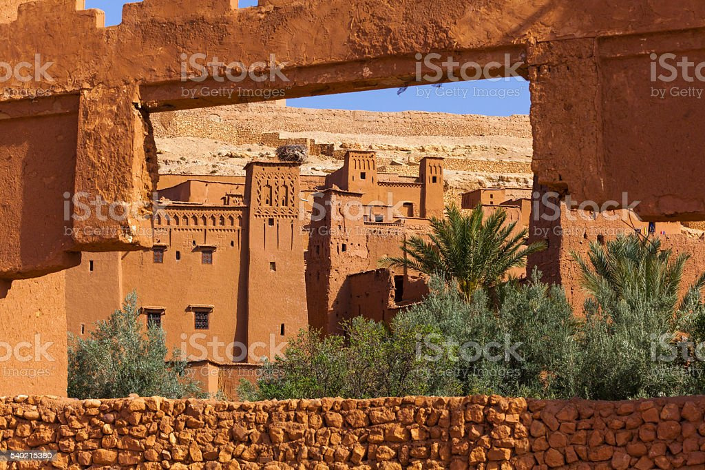 Aït Benhaddou Morocco stock photo